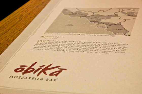 Obika table mat