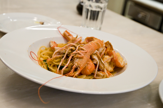 Linguine with Langoustine