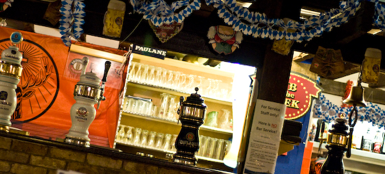 The bavarian beer bar