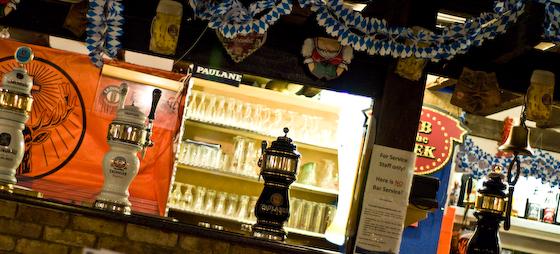 The bavarian beer bar