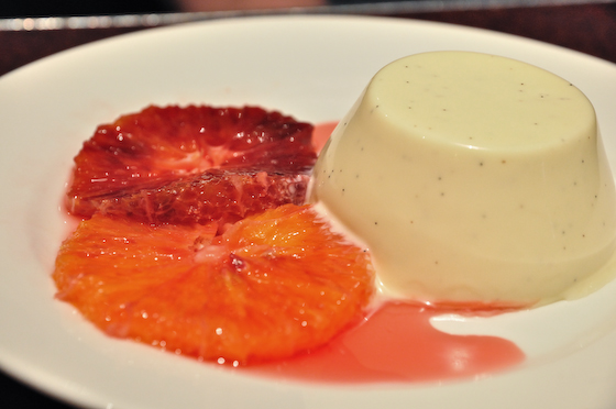 Pannacota Blood Orange