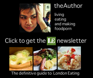 Get the LondonEater Newsletter, its free.