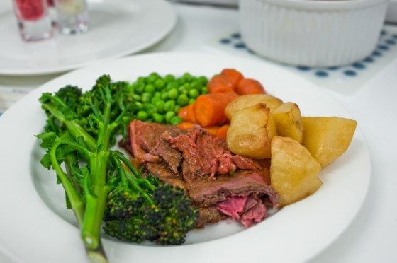 Roast beef with Trimmings