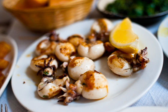 Grilled Baby Squid