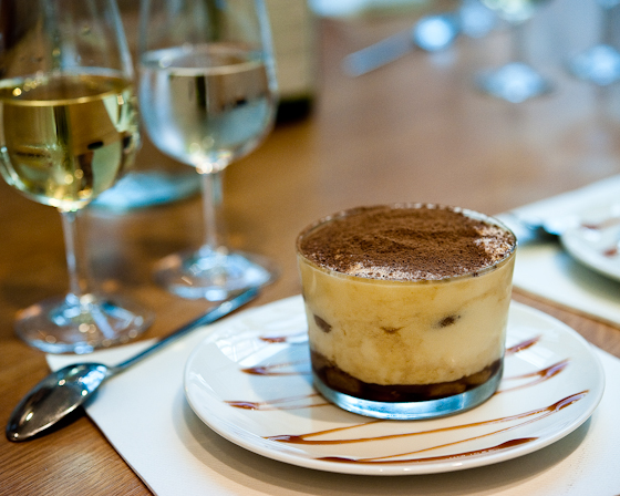 pudding and wine