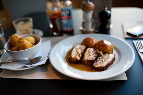 Canteen: Pork Belly and Baked Apple