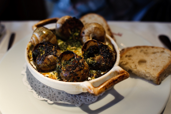 Le Cassoulet: Escargot from Burgundy