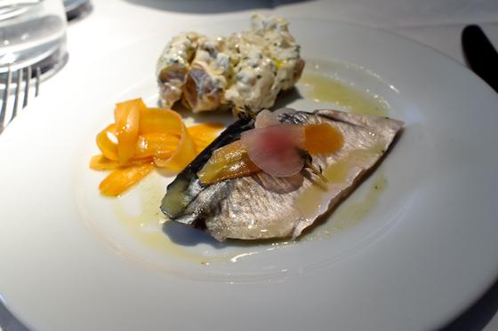 Le Cassoulet: mackerel