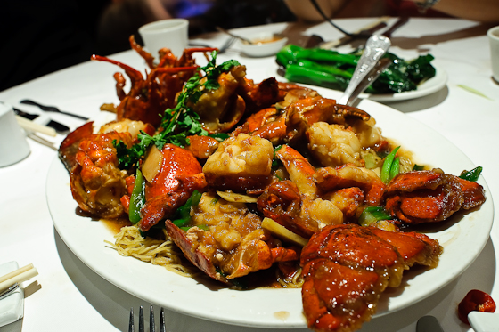 Mandarin Kitchen: The Lobster Noodles. [Review] | London Eater