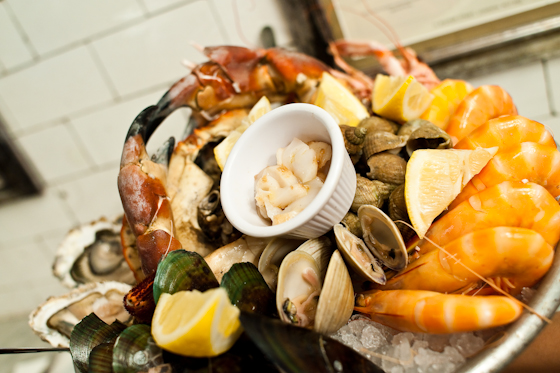 Fruits de Mer from above