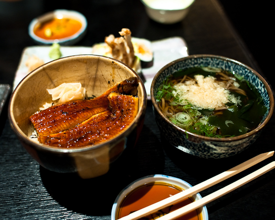 Tomoe: Unagi Set Lunch
