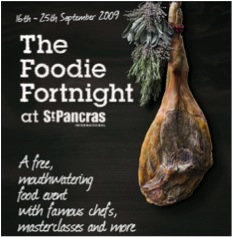 Foodie Fortnight at St Pancras Station