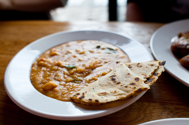 Dock Kitchen: Chick Pea Dhal