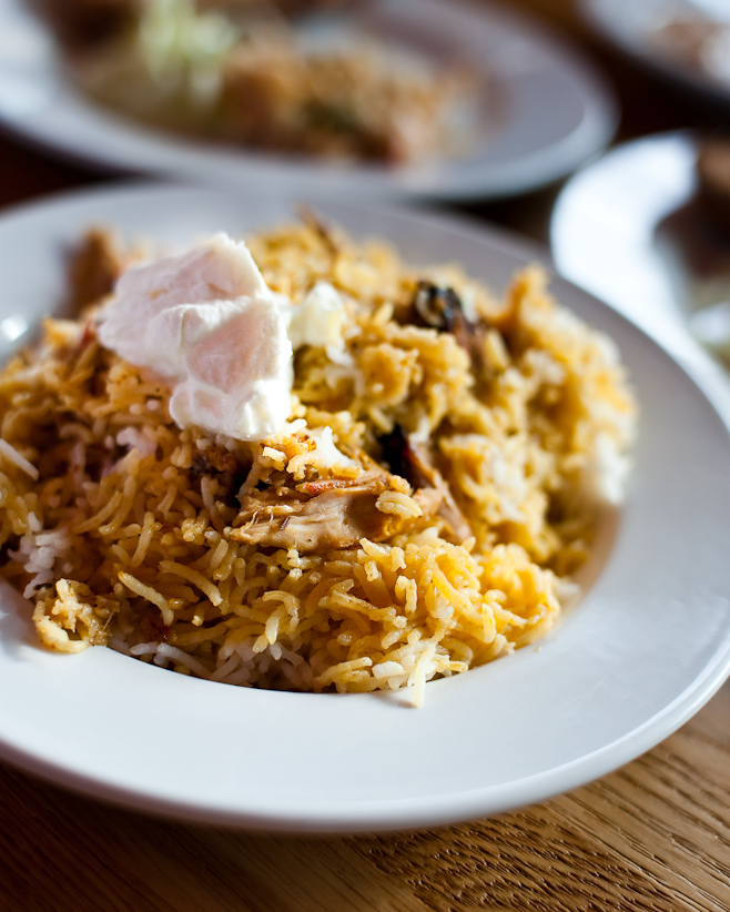 Dock Kitchen: Rabbit Biryani