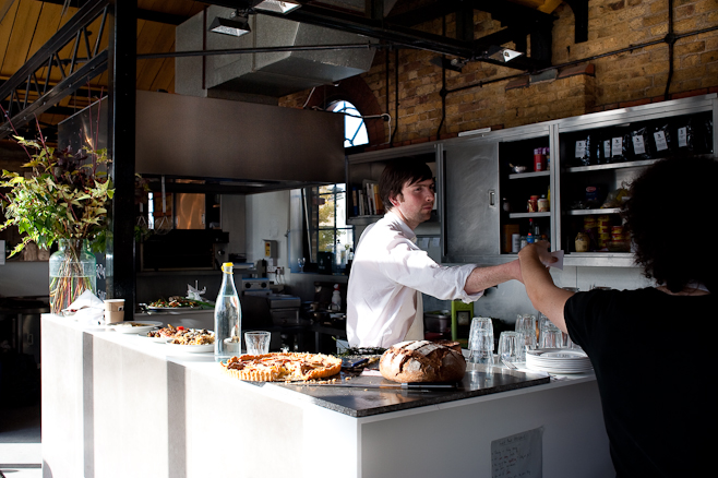 The Kitchen/Counter at Dock Kitchen
