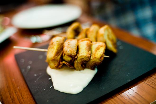 Iberica: Artichokes with Aioli
