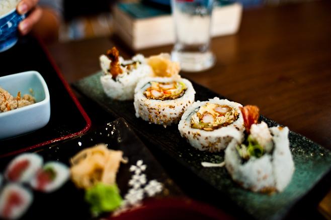 Kiraku: Camembert Sushi