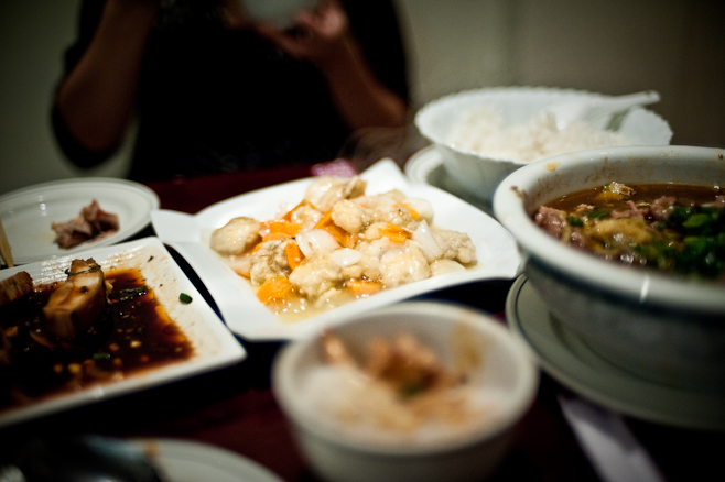 No 10: fish fillet in white win, szechuan hotpot