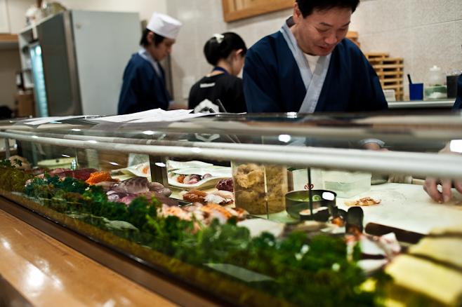 Sushi Hiro: Itamae.
