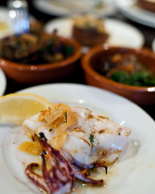 Barrica: Grilled Squid
