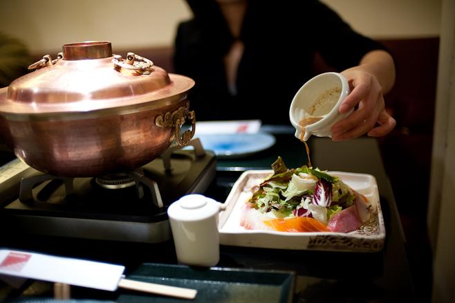 Mitsukoshi : Sashimi Salad