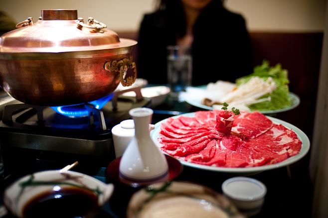 Mitsukoshi : Shabu-Shabu beef