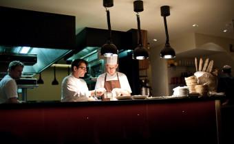 East Side Inn Bistro : The Kitchen