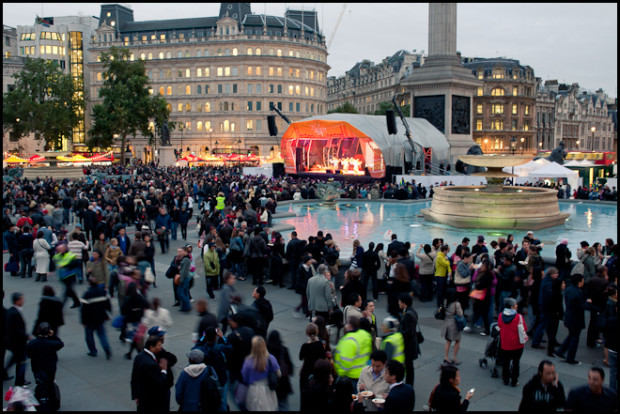 Malaysian Night at Trafalgar Square, 2010.