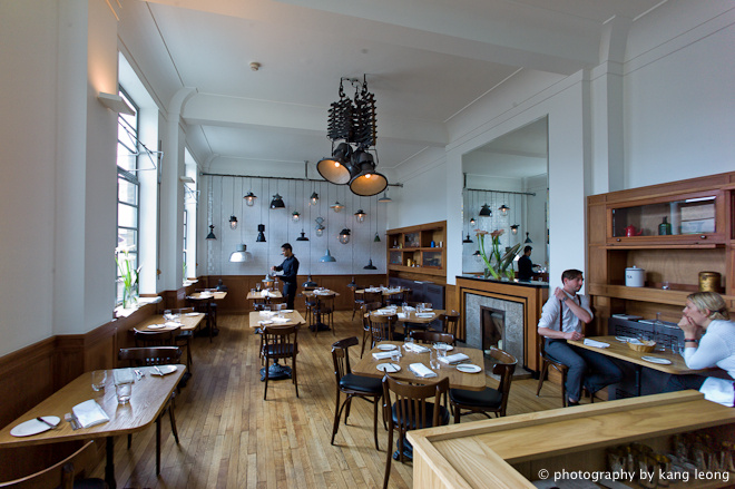 Corner Room Menu Bethnal Green