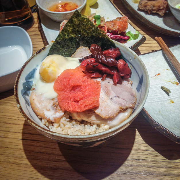 Shoryu ramen london eater for Fish whose eggs are used for caviar